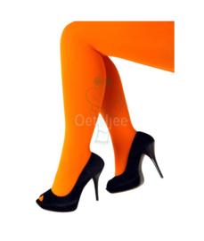 Panty fluor oranje
