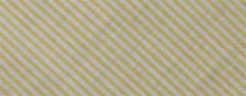 Biasband gele streep 36 mm gevouwen en ongevouwen