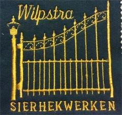 Borduren badge Wilpstra Sierhekwerken
