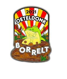 """Pin Oeteldonksche Club 2021 """"Oeteldonk Borrelt"""""""