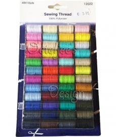 Set naaigaren 48 kleuren