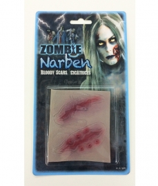 Litteken zombie halloween - 1