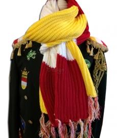 Oeteldonkse sjaal / das Deluxe ; extra dik, breed en lang (240 x35 cm)