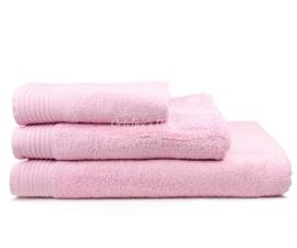 Geborduurd badlaken met eigen naam of tekst light pink