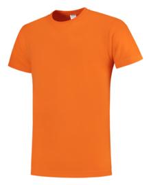 Koningsdag t-shirt oranje ronde hals korte mouw