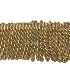 Franjeband goud lurex 7 cm