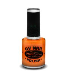 Oranje nagellak UV Neon