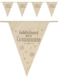 Vlaggenlijn / slingers communie