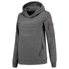 Tricorp sweater Premium capuchon logo dames 304007 met bedrukking