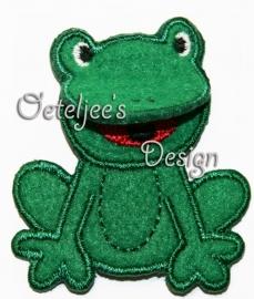 3D Kikker groen