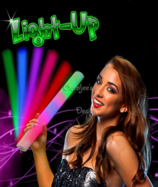 Party LED foam stick (3 standen)
