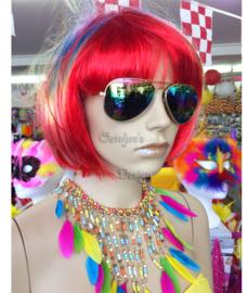 Pilotenbril olie spiegelglas / regenboog