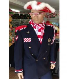 Gepimpte Brabant  carnavals uniform jas zwart