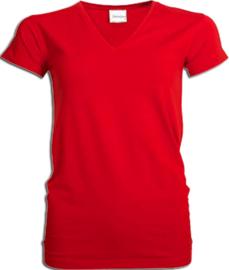 Toppers  in Concert 2019 t-shirt dames rood V hals