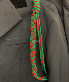 Kaaiendonk paracord erekoord rood groen