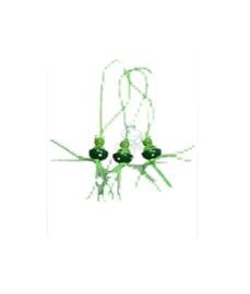Gelukspoppetje kikker groen
