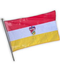 Oeteldonk vlag met wapen van Oeteldonk