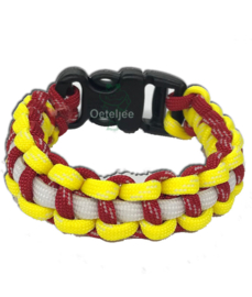 Armband Oeteldonk paracord Bracelet glow in the dark