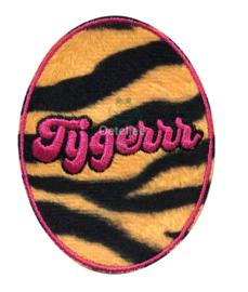 "Carnaval embleem ""Tijgerrr"""