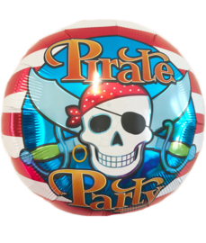 Folie ballon Pirate Party