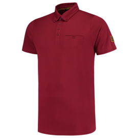 Tricorp Poloshirt Premium Button Down 204001 met bedrukking