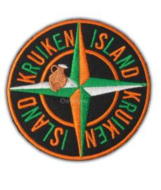 """Kruikenstad embleem """"Kruiken Island"""""""