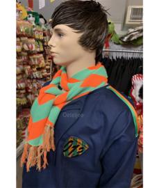 Boerenkiel Kruikenstad groen/oranje