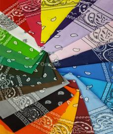 Boeren zakdoeken diverse kleuren