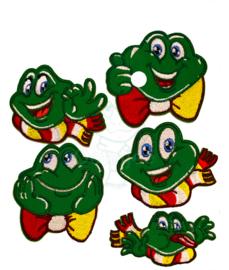 Set kleine Oeteldonkse smilende kikkers