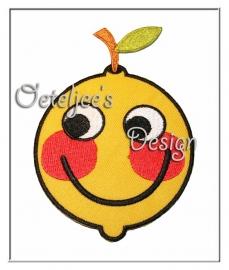 Opstrijkbare applicatie Oeteldonk Smiley