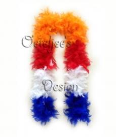 Boa dik Holland Koningsdag rood/wit/blauw/oranje