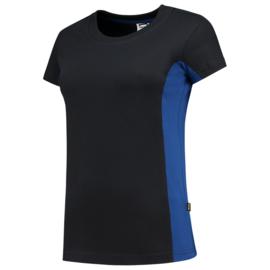 Tricorp T-shirt bicolor dames 102003 met bedrukking