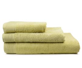 Geborduurd badlaken met eigen naam of tekst stone