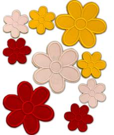 Oeteldonk emblemen: Set kleine Oeteldonkse bloemetjes