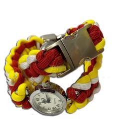 Oeteldonk paracord dames horloge