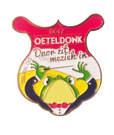 """Pin Oeteldonkse Club 2017 """"Doar zit meziek in"""""""