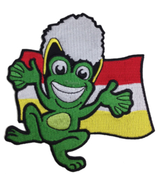 Embleem Oeteldonk vlag met kikker