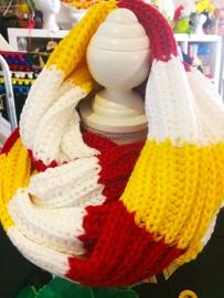 Oeteldonkse col sjaal (130 x35 cm)