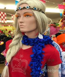 Boa sjaal Royal Blue
