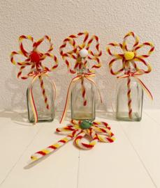 Oeteldonkse hobbyset chenille bloemetjes
