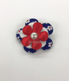 Broche Holland rood wit blauw