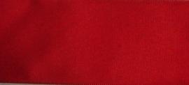 Band en Lint - Satijnband rood