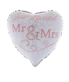 """Folie ballon getrouwd """"Just Married"""""""