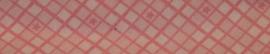 Biasband - Roze met ruit