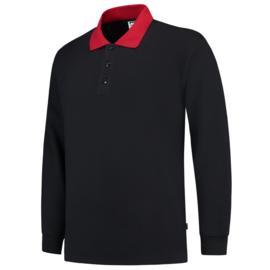 Tricorp polosweater contrast 301006/PSC280 met bedrukking