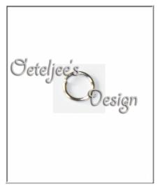 Metalen ringetje rond 6mm 0,8 mm dik