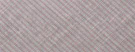 Biasband roze streep 36 mm gevouwen en ongevouwen