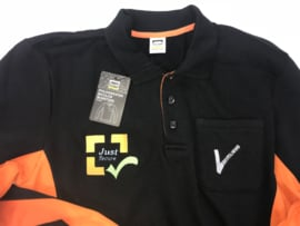 Levering en borduren kleding beveiligingsbedrijf Just Secure