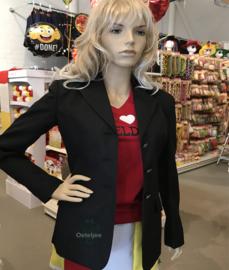 Oeteldonkse dames uniform jas ongepimpt zwart
