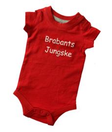 Rompertje rood met opdruk Brabants Jungske